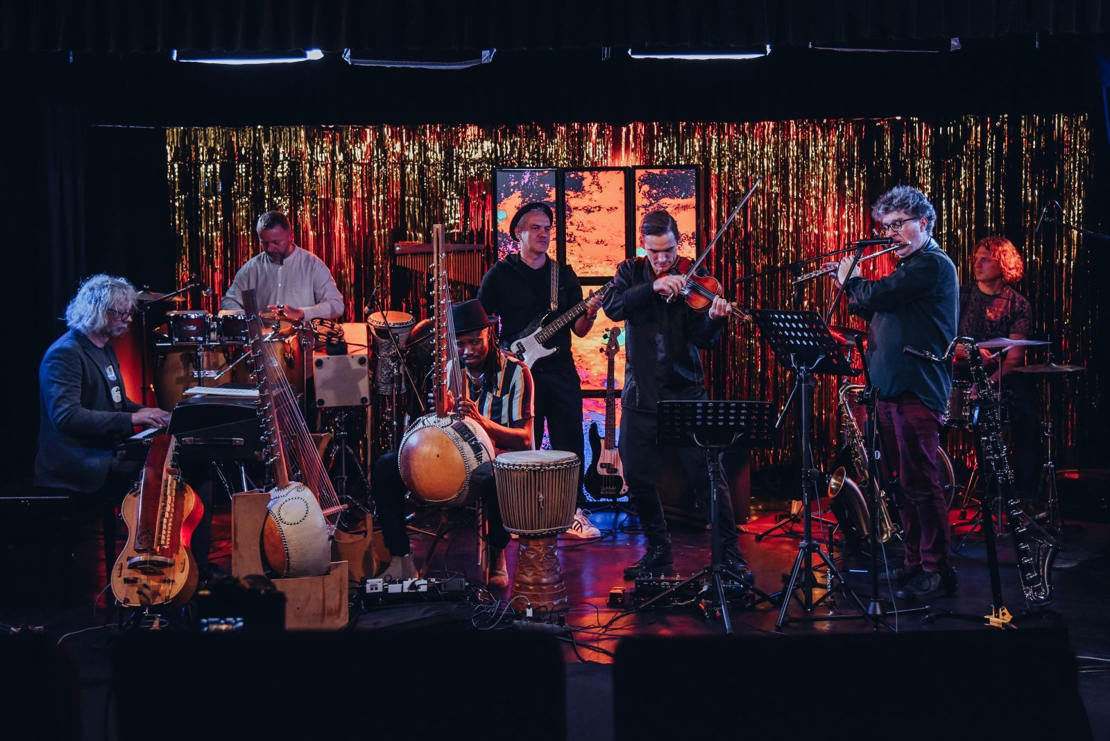 DWOREK.TV | Koncert Trifonidis Roots Septet